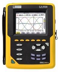 analizorul de reţea electrică trifazată şi regimuri tranzitorii Chauvin Arnoux, Qualistar CA 8335 pentru audit energetic instalații aer comprimat